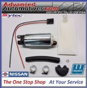 NISSAN 200SX S14 & S15 GENUINE WALBRO 255LPH FUEL PUMP & FITTING KIT FROM SYTEC